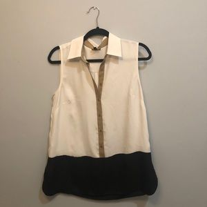 Talbots medium women's button down blouse